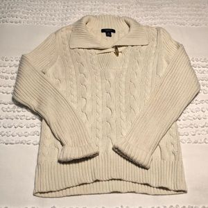 Chaps Chunky Knit Sweater